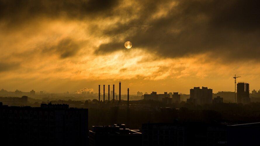四丁目の夕日を連想させるイメージ画像
