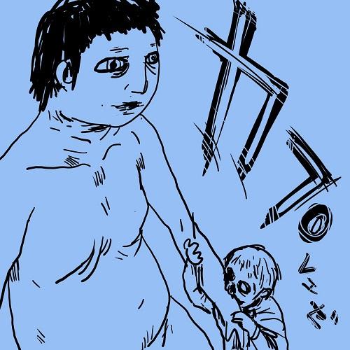 zombie VS titan  巨人に噛みつくゾンビ
