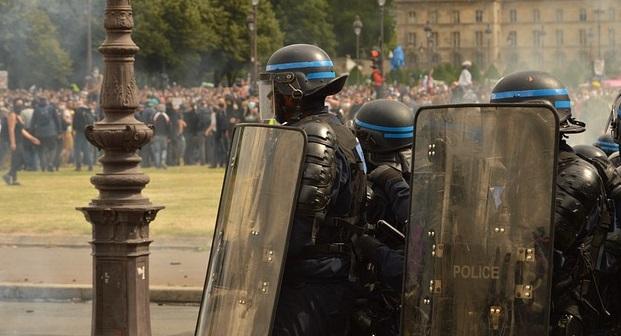 フランスの暴動